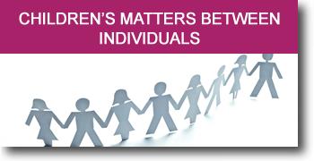 Children's matters between individuals