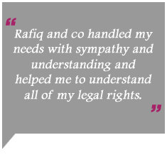 Rafiq and co family solicitors